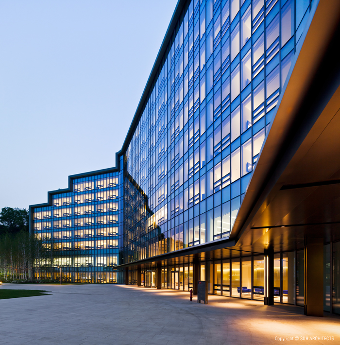 Hyundai Kia Motors Mabuk Training Center by Suh Architects