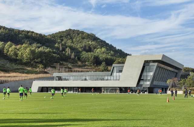 2015한국건축문화대상 / JEONBUK HYUNDAI MOTORS FC CLUBHOUSE
